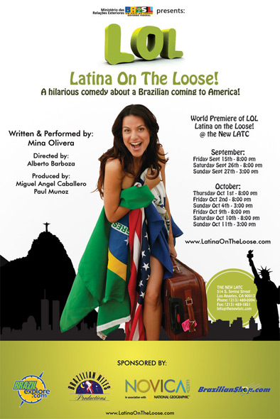 LOL! Latina on the Loose! - Los Angeles Latino Theater Comedy Event